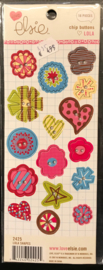 Lola Chip Buttons Shapes Elsie KI Memories