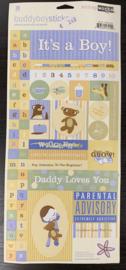 Buddy Boy Stickers - ScrapWorks