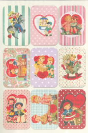 Valentine Cards Die-cuts