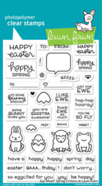 Say What? Spring Critters Stamps - Lawn Fawn