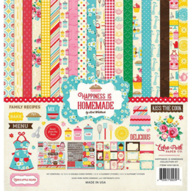 Happiness is Homemade by Lori Whitlock 12x12 Kit - Echo Park