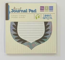Die-Cut Journal Pad Teen Angst - We R Memory Keepers
