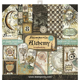 Alchemy 12x12 10 double sided sheets Stamperia