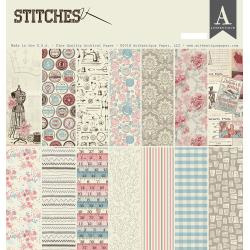 Stitches 12x12 Paper Pad Authentique
