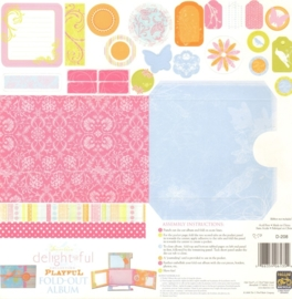 Fold Out Album Playful - Delightful Collection