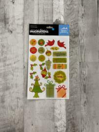Renae Lindgren Chistmas Epoxy Stickers - Creative Imaginations