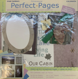 Perfect Pages Great Outdoors 12x12 - Colorbok