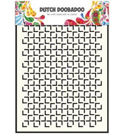 Geomatric Square Mask A5 - Dutch Doobadoo