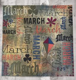 March Doodle - Karen Foster