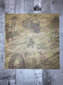 Dirt Bike Collage - Karen Foster