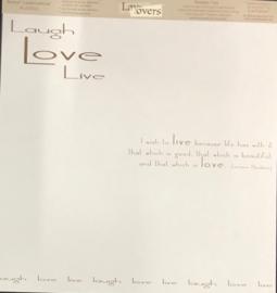 Neutral Laugh Love Live (Transparency)