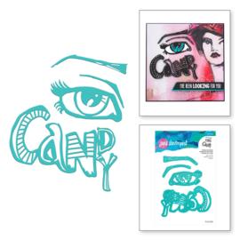 Eye Candy Dies by Jane Davenport - Spellbinders