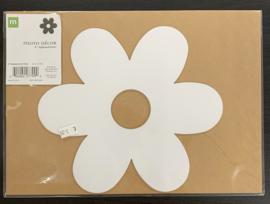 "Flower Chipboard Letters 8"" - Making Memories"