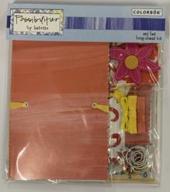 Red Hot Brag About It Kit by Kolette - Colorbok