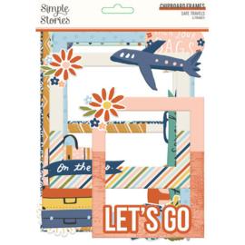 Safe Travels Chipboard Frames - Simple Stories