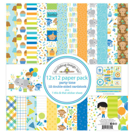 Party Time Collection Pack - Doodlebug