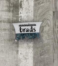 Blue Star Brads - Creative Imaginations