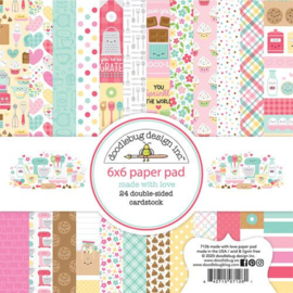 Made With Love 6x6 Paper Pad - Doodlebug