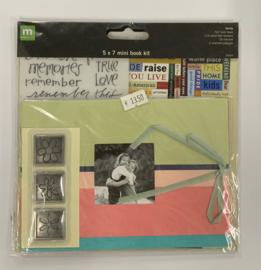 Family Mini Book Kit 5x7 - Making Memories