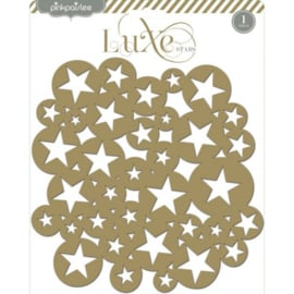 Luxe Stars Chipboard