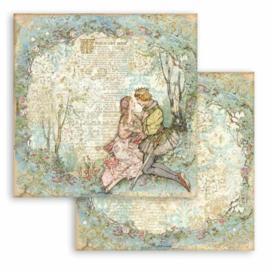 Sleeping Beauty Lovers  - Stamperia