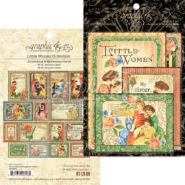 Little Women Journaling & Ephemera Cards Graphic 45