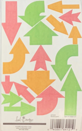 Arrows Flamboyant Stickers - Heidi Swapp