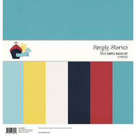 12x12 Simple Basics Kit - Cruisin Collection