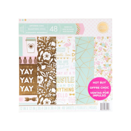 Uptown Chic  6x6 Paper Pad 24 sheets Craft Smith