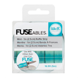 Fuse ables Mint Ruffle Strip - We R Memory Keepers