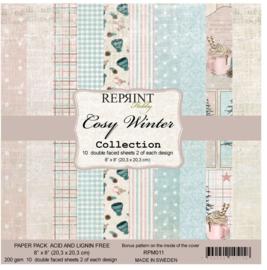 Cosy Winter 8x8 - Reprint