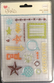 Riley Arrows Clear Stamps