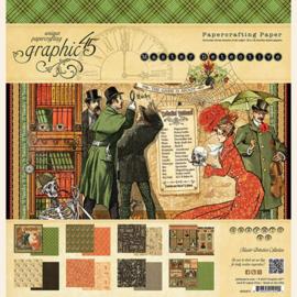 Master Detective 12x12 Paper Pad Graphic 45