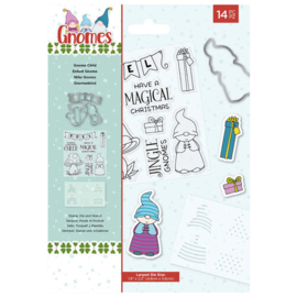 Gnome Child Christmas Stamp & Die Set - Crafter's Companion