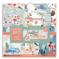 Gratitude 8x8 paper pack - Stamperia