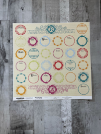 Narratives Bloom Stickers - Creative Imaginations