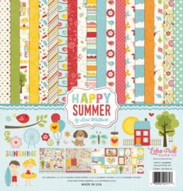 Happy Summer by Lori Whitlock 12x12 Kit - Echo Park