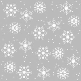 Winter Farmhouse 6x6 Stencil - Simple Stories