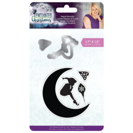 Enchanted Christmas Magic Moonlight Stamp & Dies - Crafters Companion