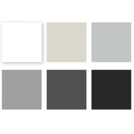 Cardstock Multipack Black/Grey 12x12 - Florence