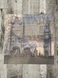 Great Britain Left - Wubie Prints