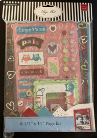 Page Kit A4 Dressing Room - Chatterbox