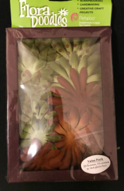 Large Daisy Box Blend Green/Brown Petaloo