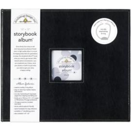 Beetle Black Storybook Album 12x12 - Doodlebug