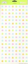 Pastel Tiny Tabs Cardstock Stickers
