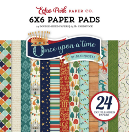 Once Upon a Time Paper Pad 6x6 - Echo Park
