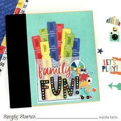 Family Fun Decorative Self-Adhesive Brads - Simple Stories