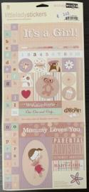 Little Lady Stickers - ScrapWorks
