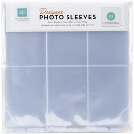 Photo Sleeves 4x6 Horizontal Pockets 12x12 - Echo Park