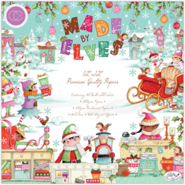Made by Elves Paper Pad 12x12 - Craft Consortium